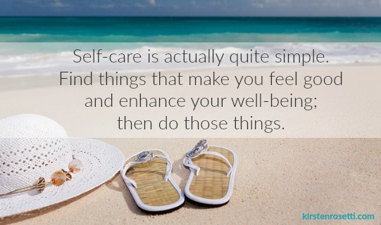 Self-care doesn't need to take a ton of time or cost a lot of money. It's just about finding activities and ideas that work for you and your situation. I've put together a list of 20 things you can try doing just for yourself. Pick a few to try, and keep experimenting. Everyone's self-care practice is different. You've got to do what works for you.