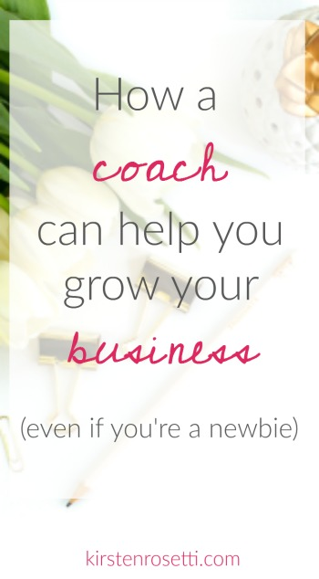 Hiring a business coach is one of the smartest investments you can make - even when you're just starting out. Click over to the blog to read about 7 things a business coach can help you with so that you can grow your business.