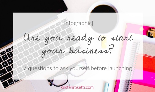 Are you ready to start your business? [infographic + workbook ]