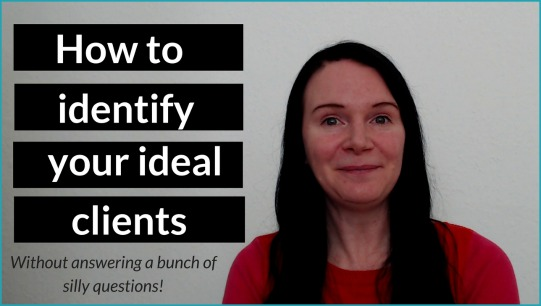 Are you struggling to identify your ideal client? In this video I share some easy to implement tips on how to create an ideal ideal profile without having to answer a bunch of random questions like whether your ideal client prefers sweet or salty snacks and what her favorite song is (because, seriously, how many peeps have just one??).