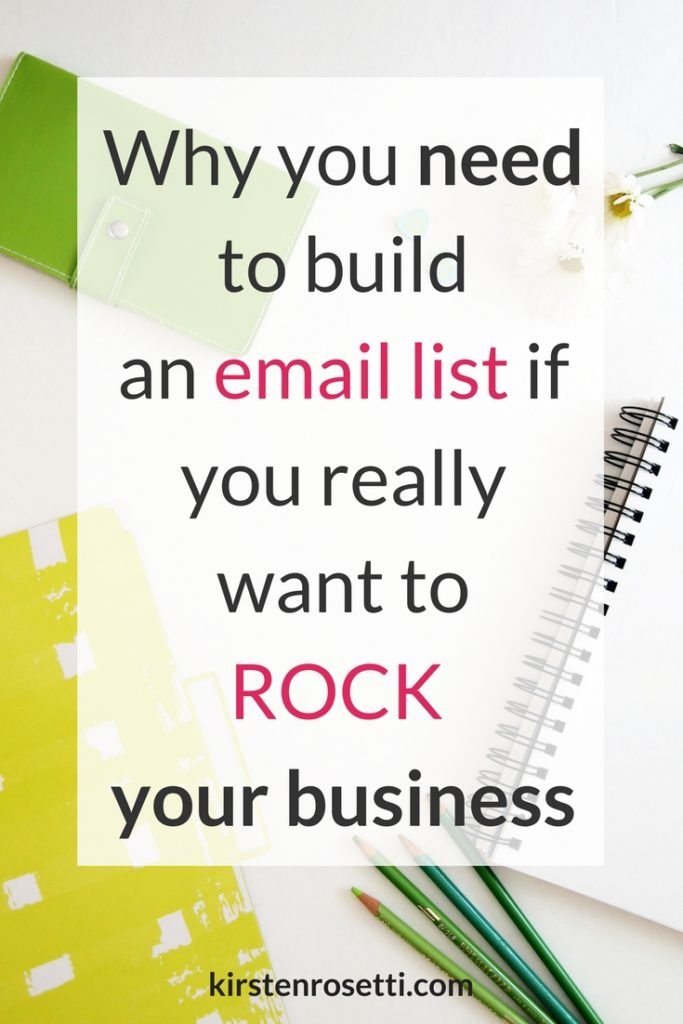 Why you need an email list for your business