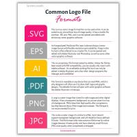 Common logo file formats